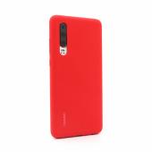 Silikonska zaštitna maska za telefon Huawei P30- crvena