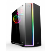 Kuciste MS Industrial METROPOLIS PRO RGB, gaming kućište