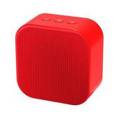 Bežični zvučnik 1.0 Xwave B Square bluetooth 5W crvena